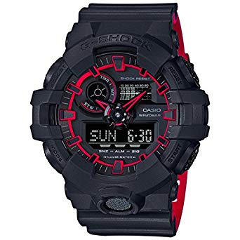 Casio GA700SE-1A4 Black 53.4mm Resin G-Shock GA-700 Men's Watch
