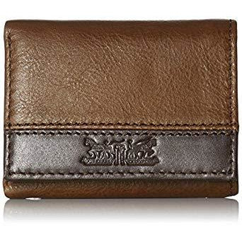 Levi's LV110013 Men's Trifold Wallet - Sleek and Slim Includes ID Window
