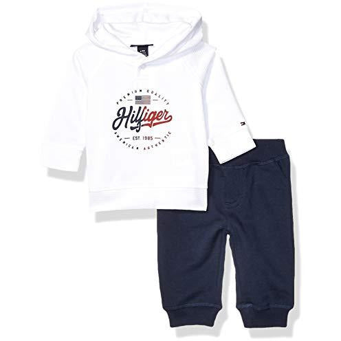 Tommy Hilfiger Baby Boys 2 Pieces Pullover Pant Set 24 M