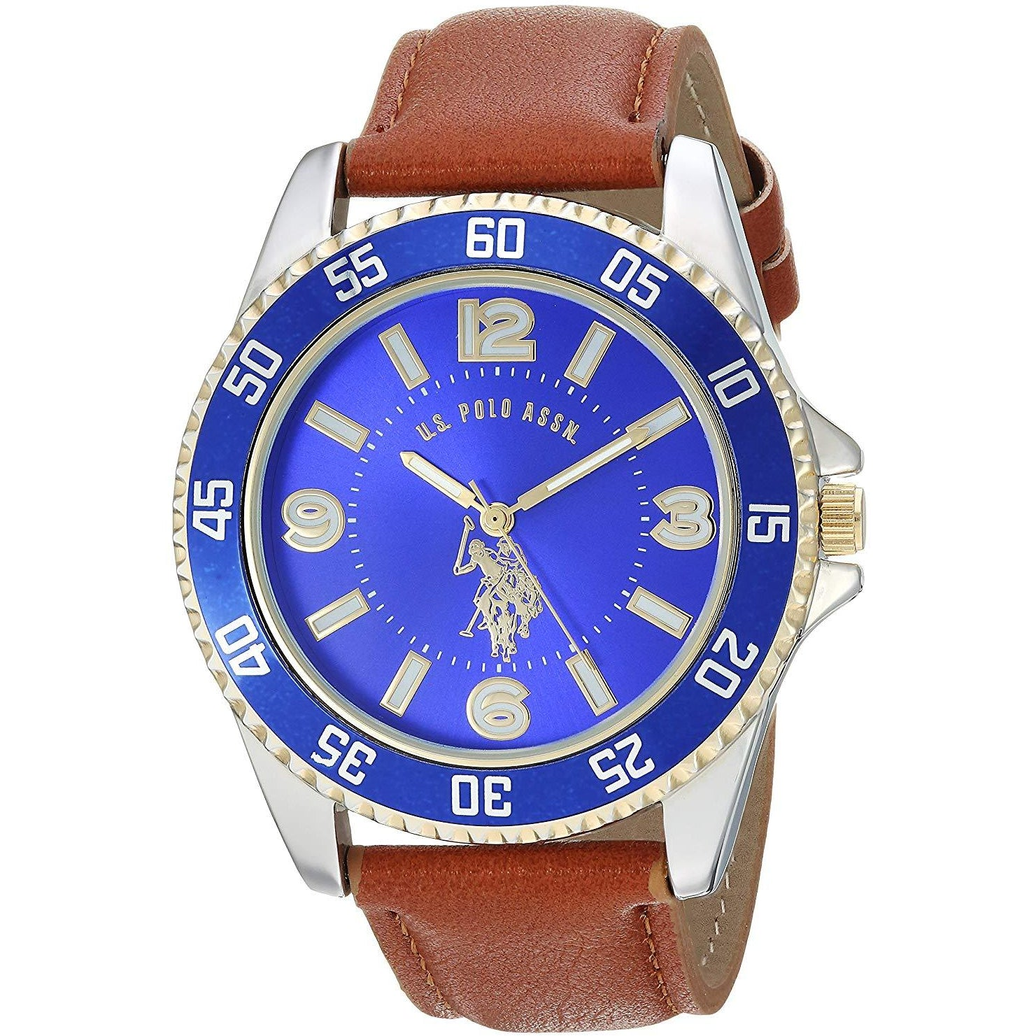 U.S. Polo Assn. Men's Quartz Metal Casual Watch Model USC50479