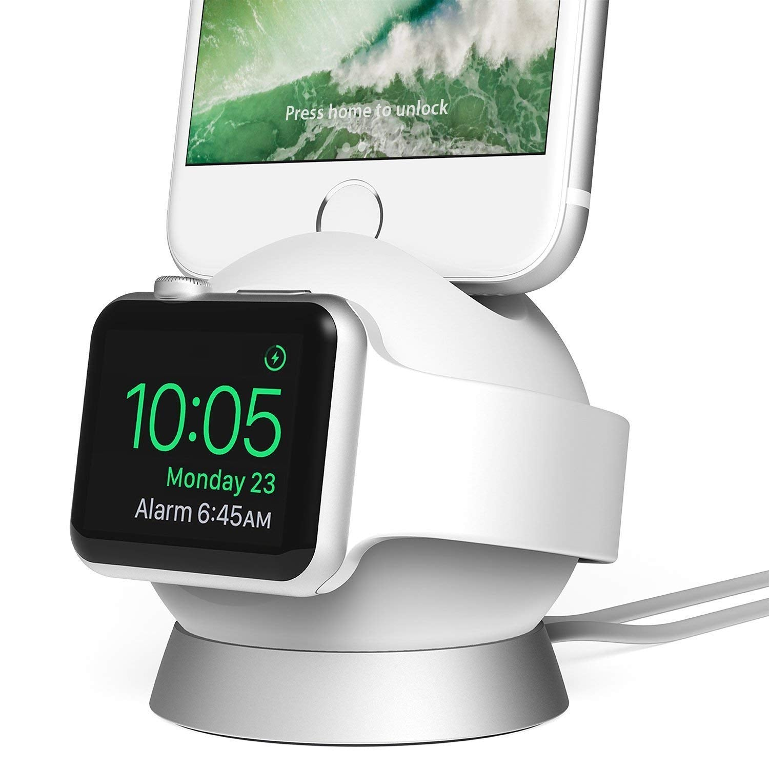 iOttie OmniBolt Apple Watch Stand, iPhone Docking Station for Apple Watch Series 2, 1, iPhone 7s Plus, 7s, 6s, SE, 6