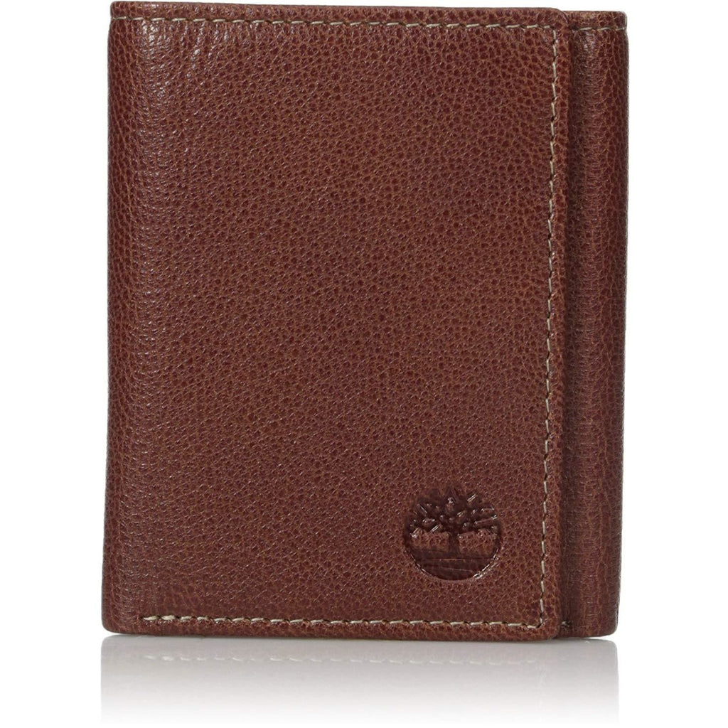 Timberland Men's Leather Rfid Blocking Trifold Security Wallet - 3alababak
