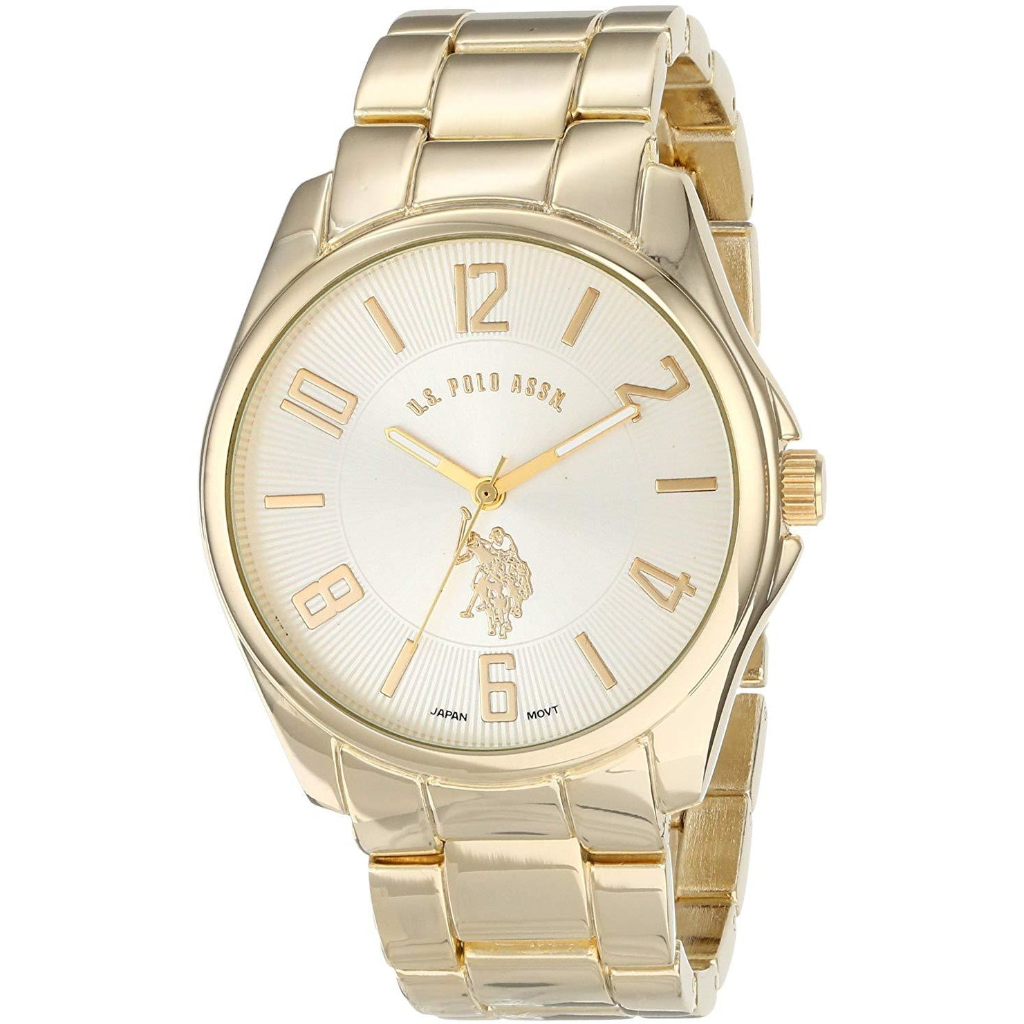 U.S. Polo Assn. Classic Men's USC80215 Gold-Tone Watch