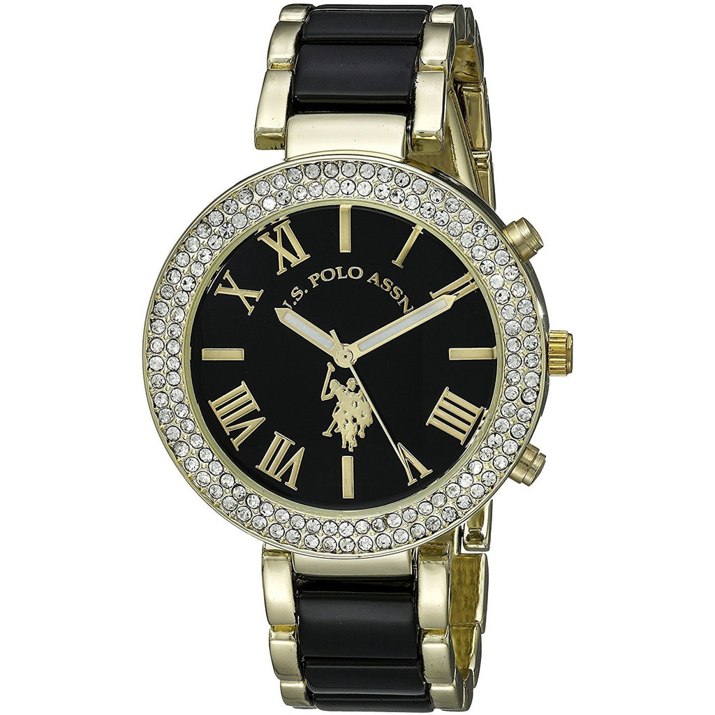 U.S. Polo Assn. Women's USC40061 Two-Tone Watch - 3alababak