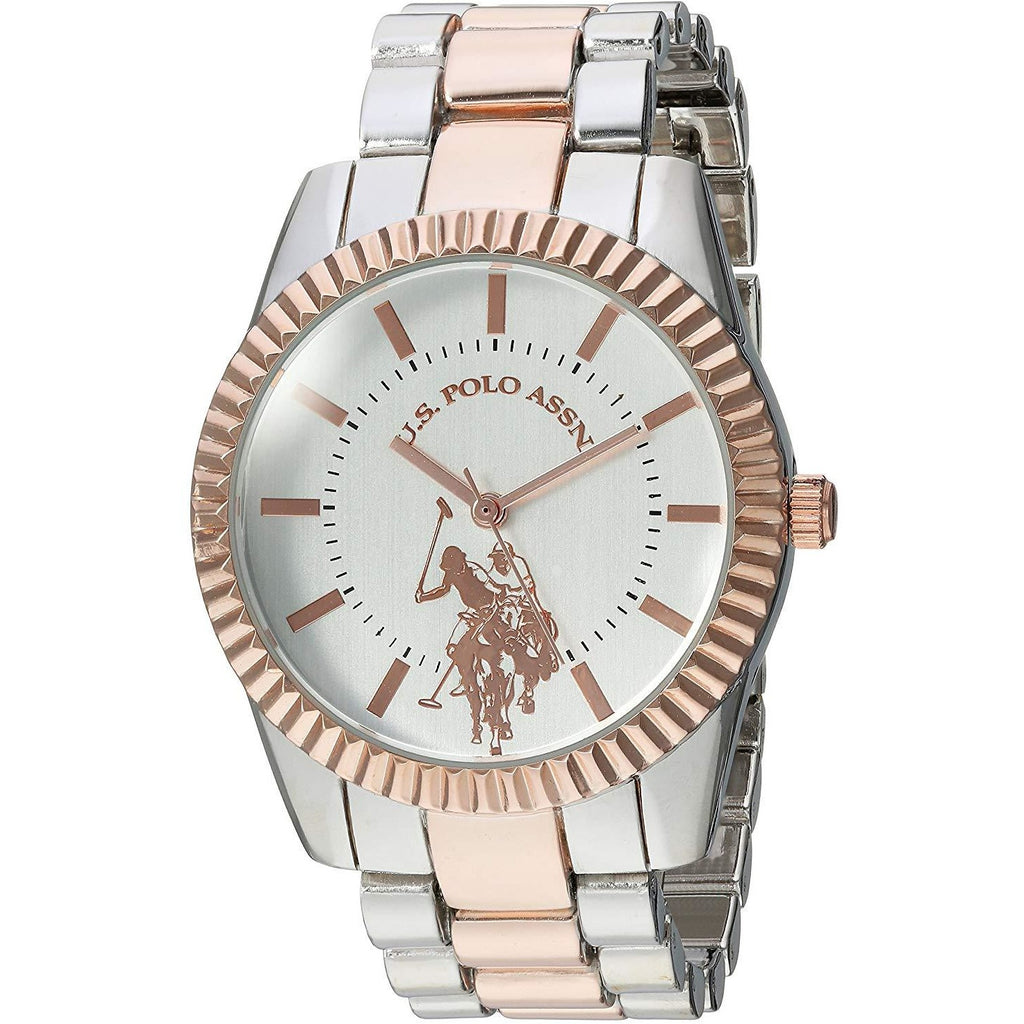 U.S. Polo Assn. Women's Quartz Metal and Alloy Casual Watch Model USC40263 - 3alababak
