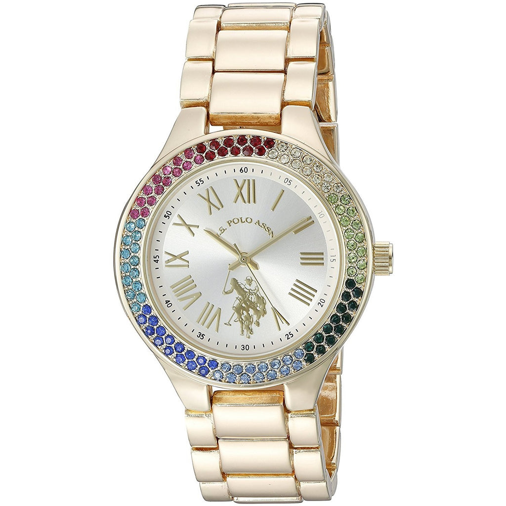U.S. Polo Assn. Women's Quartz Metal and Alloy Casual Watch Model USC40128 - 3alababak