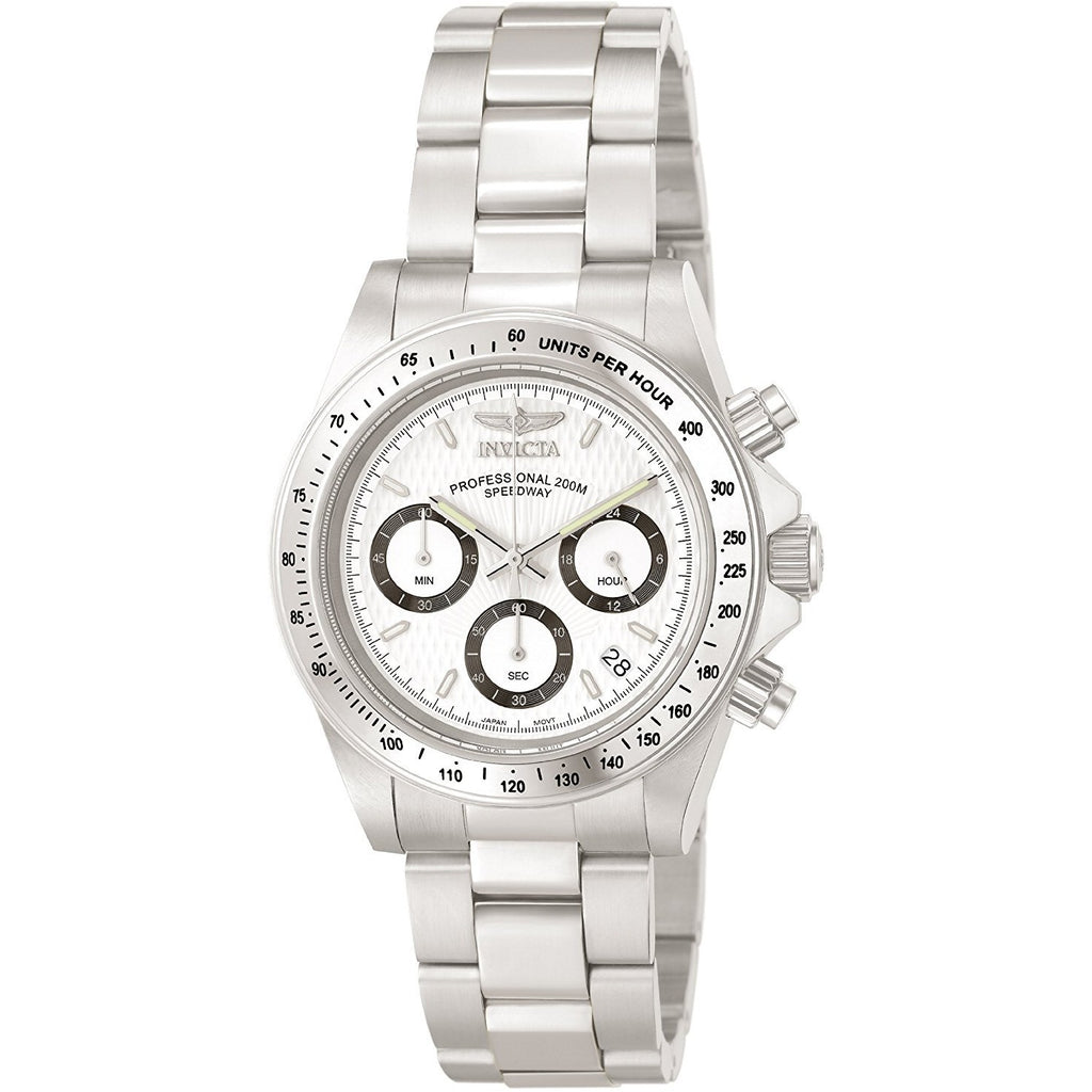 Invicta Men's 9211 Speedway Collection Stainless Steel Chronograph Watch with Link Bracelet - 3alababak