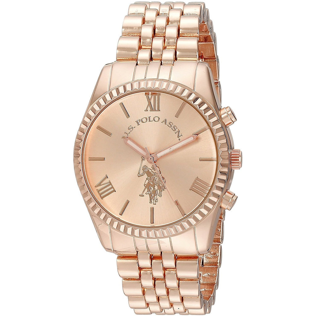 U.S. Polo Assn. Women's USC40060 Analog Display Analog Quartz - 3alababak