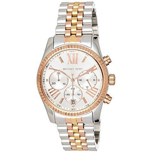 Michael Kors Women's MK5735 - Sport Lexington Chronograph Tri-Tone
