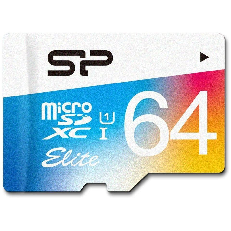 Silicon Systems 64 GB Memory Card For Mobile Phones - Memory Sticks - SP064GBSTXBU1V20SP