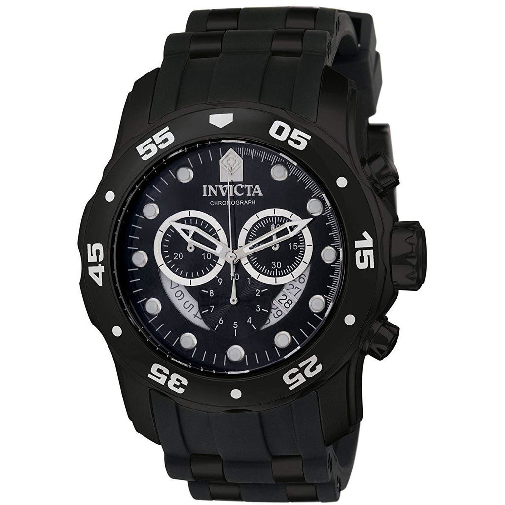 Invicta Men's 6986 Pro Diver Collection Chronograph Black Watch - 3alababak