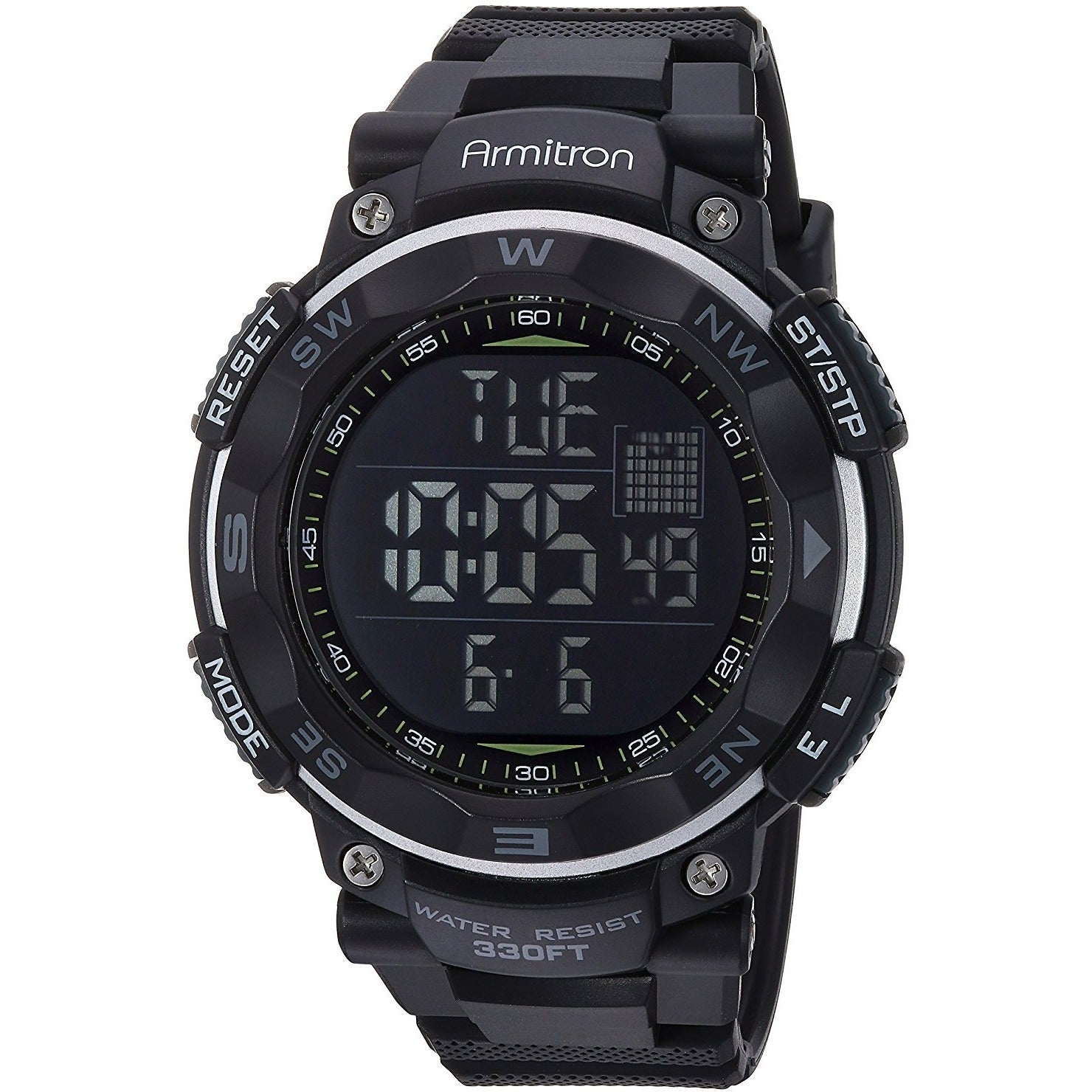 Armitron Sport Men's 40/8254 Digital Chronograph Resin Strap Watch