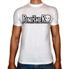 Phoenix WHITE Round Neck Printed T-Shirt Men (The punisher)