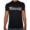 Phoenix BLACK Round Neck Printed T-Shirt Men (The punisher)