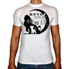 Phoenix WHITE Round Neck Printed T-Shirt Men (Lion king)