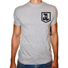 Phoenix GREY Round Neck Printed T-Shirt Men (Justice league)