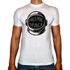 Phoenix WHITE Round Neck Printed T-Shirt Men (Space)