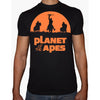 Phoenix BLACK Round Neck Printed T-Shirt Men (Planet of the apes)