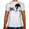 Phoenix WHITE Round Neck Printed T-Shirt Men (David bowie)