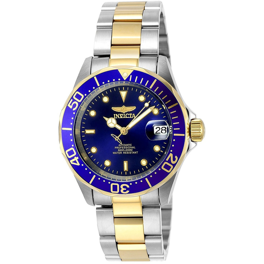 Invicta Men's 8928 Pro Diver Collection Two-Tone Stainless Steel Automatic Watch - 3alababak