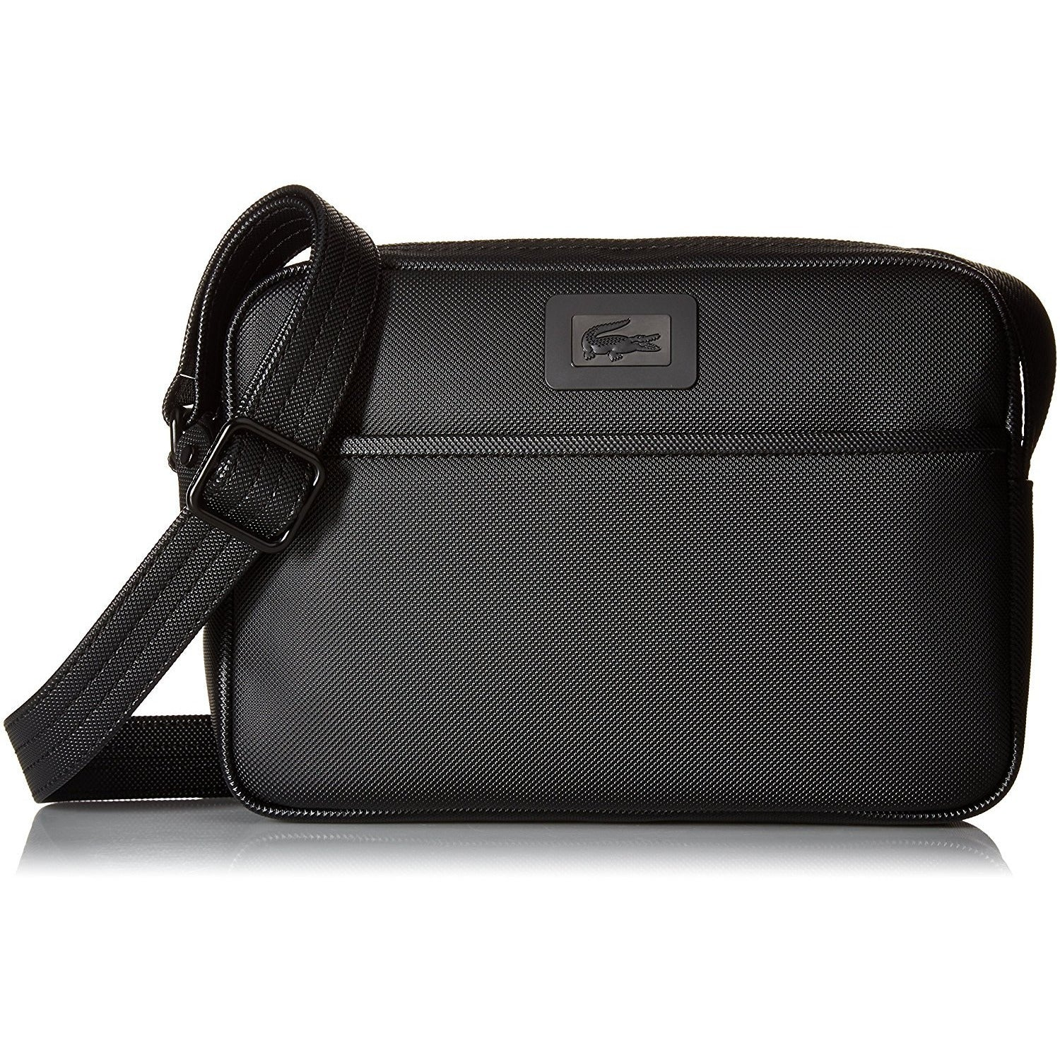 Lacoste Men S Classic Small Crossbody, Black