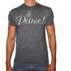 Phoenix CHARCOAL Round Neck Printed Shirt Men (Peace)