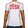 Phoenix WHITE Round Neck Printed T-Shirt Men (Cash)