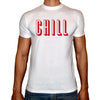 Phoenix WHITE Round Neck Printed Shirt Men (Chill)
