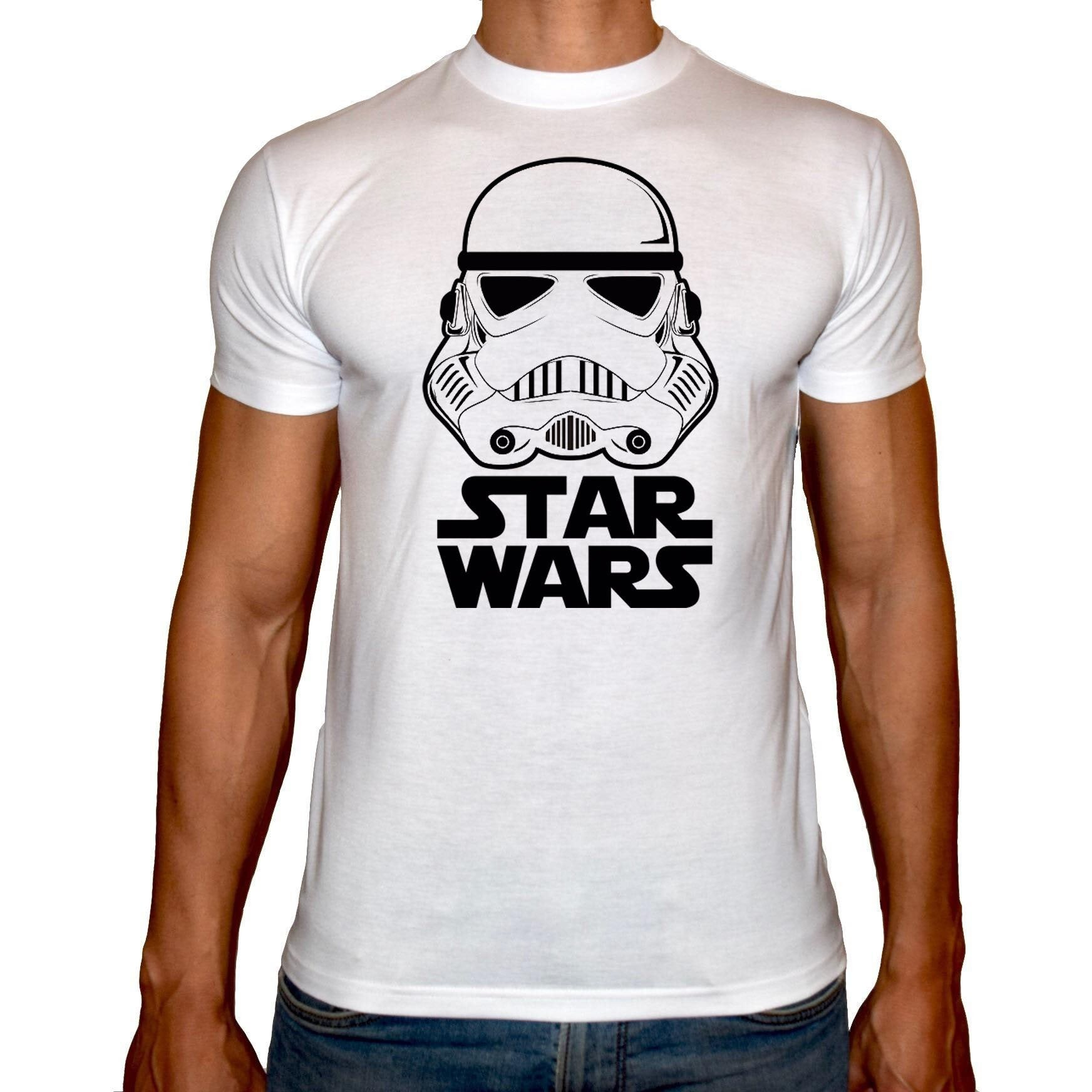 Phoenix WHITE Round Neck Printed Shirt Men (Star wars)