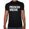 Phoenix Black Round Neck Printed Shirt Men (Prison break)