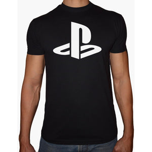 Phoenix BLACK Round Neck Printed T-Shirt Men (Playstation)