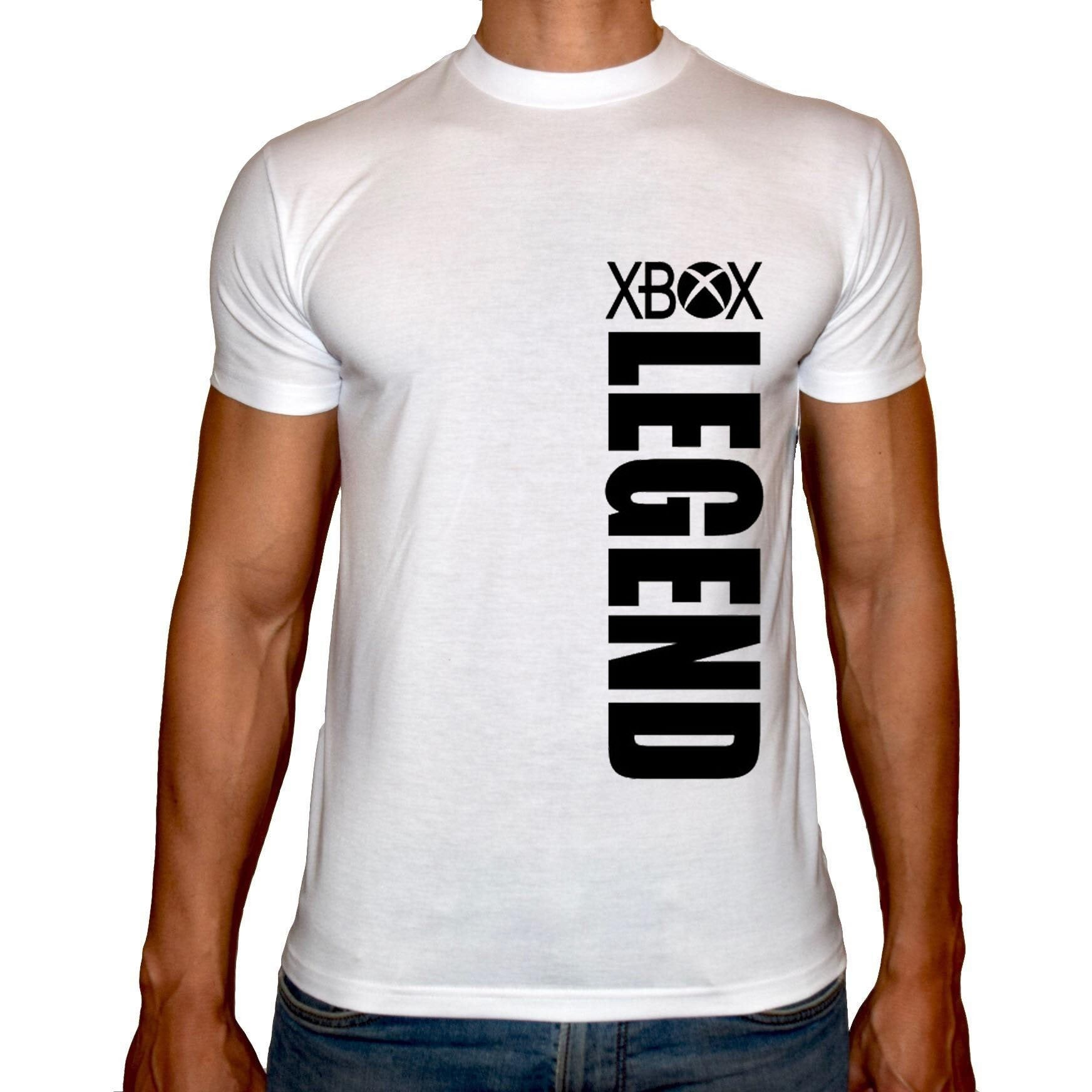 Phoenix WHITE Round Neck Printed Shirt Men (Xbox)
