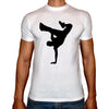 Phoenix WHITE Round Neck Printed Shirt Men (Breakdance)