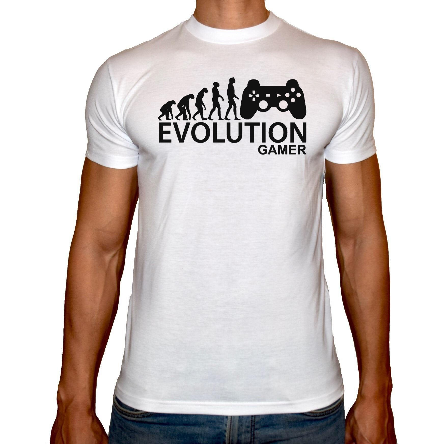 Phoenix WHITE Round Neck Printed T-Shirt Men (Playstation)