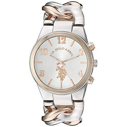 U.S. Polo Assn. USC40176 For Women- Analog, Dress Watch - 3alababak