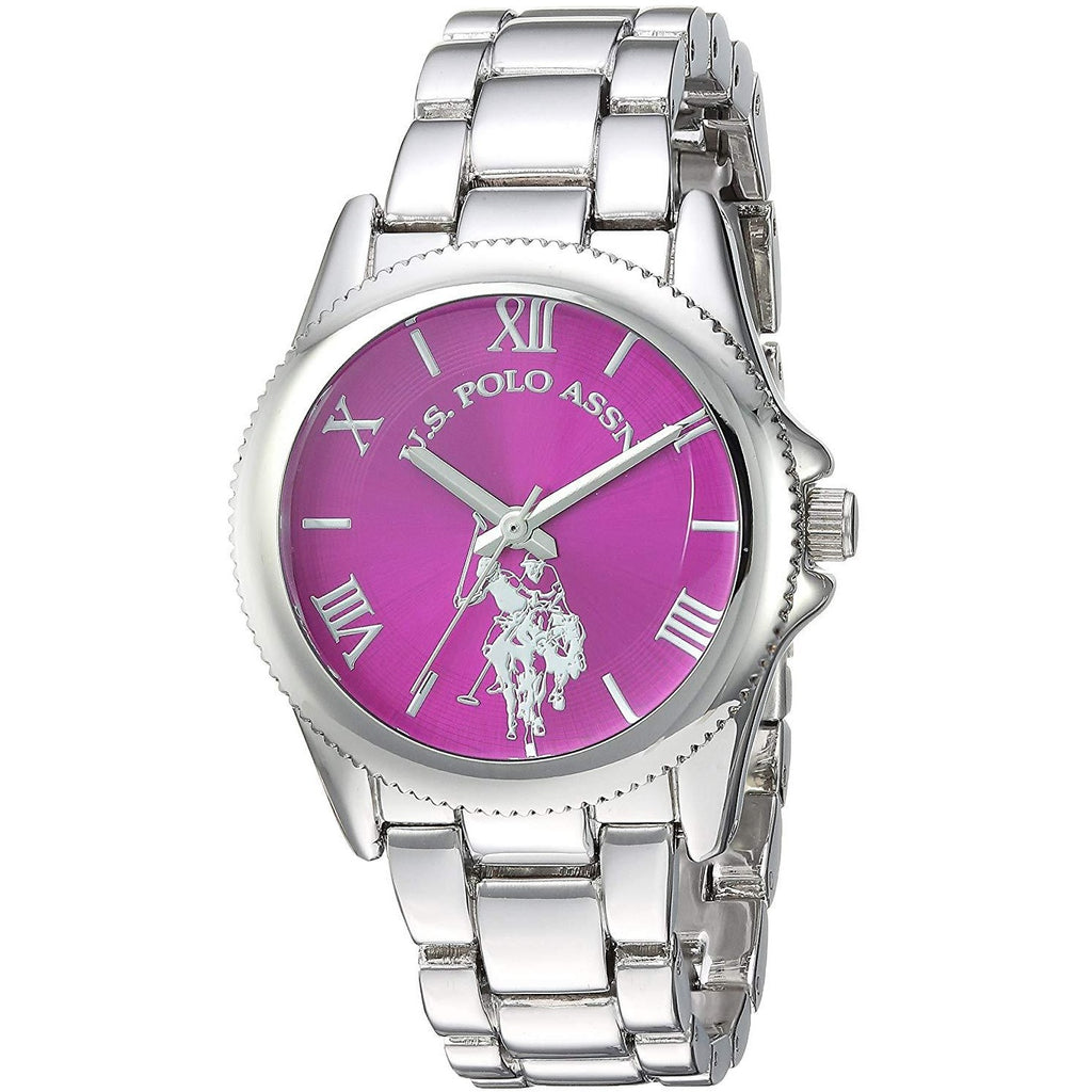 U.S. Polo Assn. Women's Quartz Metal and Alloy Casual Watch, Color:Silver-Toned (Model: USC40134) - 3alababak