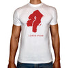 Phoenix WHITE Round Neck Printed T-Shirt Men (King kong)