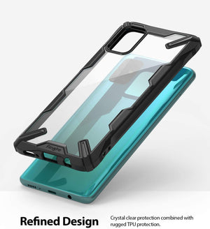 Ringke Fusion X Designed for Galaxy A51 Case (2020) - Black