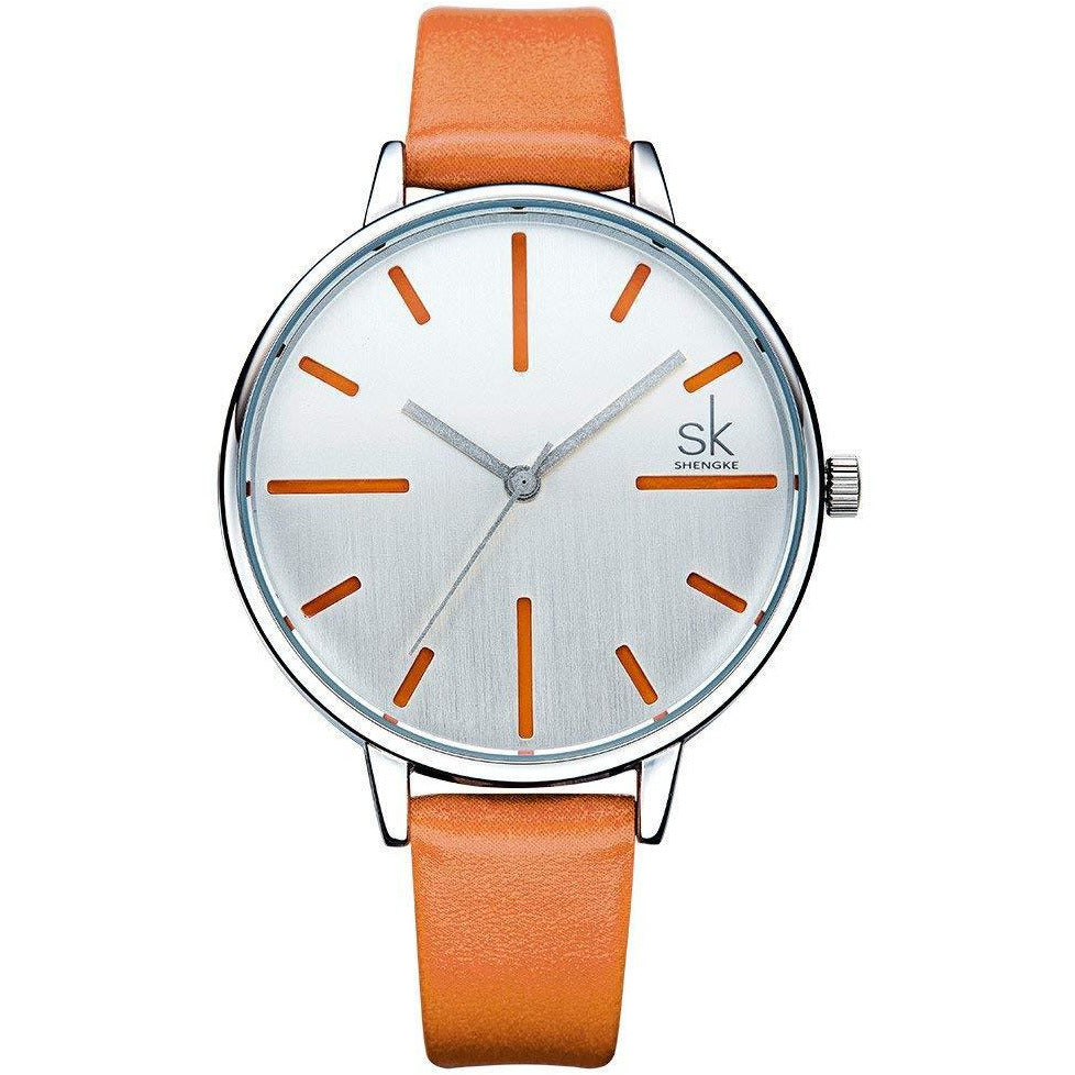 SK Ladies Waterproof Watch K0060 ­Orange
