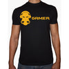 Phoenix BLACK Round Neck Printed T-Shirt Men (Gamer)