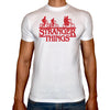 Phoenix WHITE Round Neck Printed T-Shirt Men (Stranger thinges)