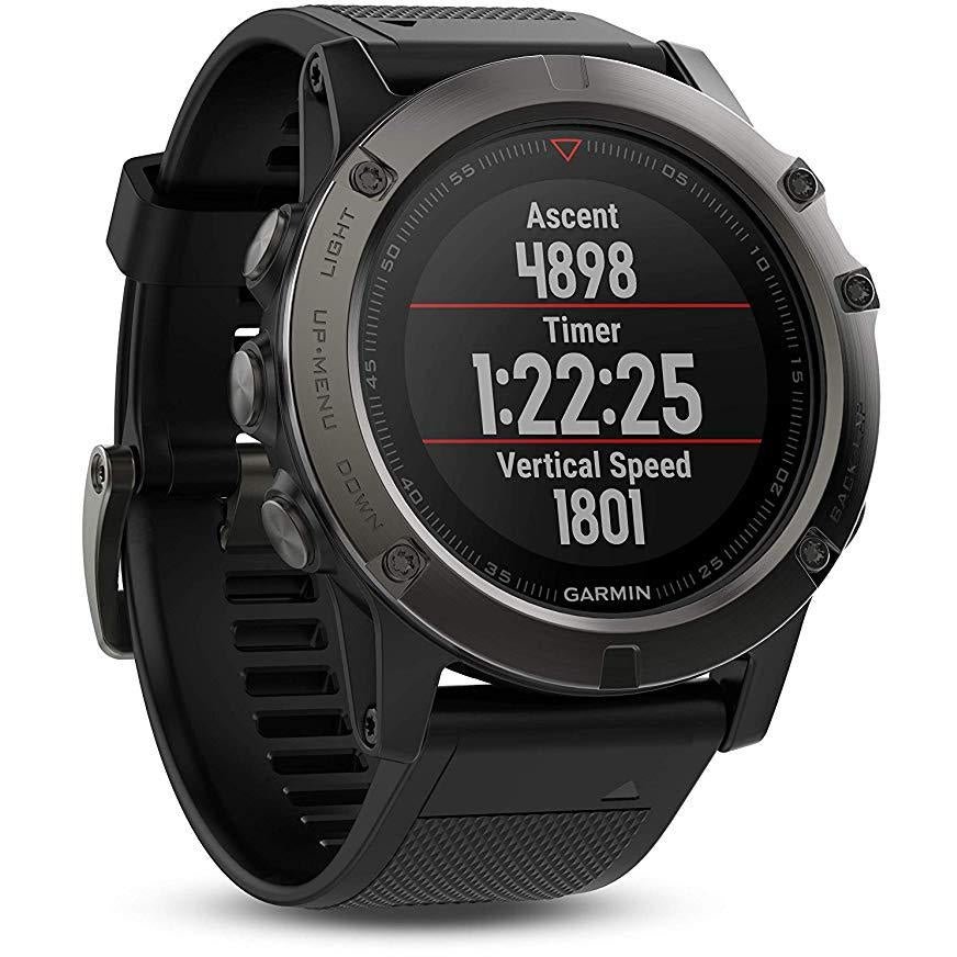 Garmin Fenix 5X Sapphire  51 mm Slate Gray with Black Band