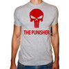 Phoenix GREY Round Neck Printed T-Shirt Men (The punisher)