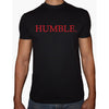 Phoenix BLACK Round Neck Printed T-Shirt Men (Humble)