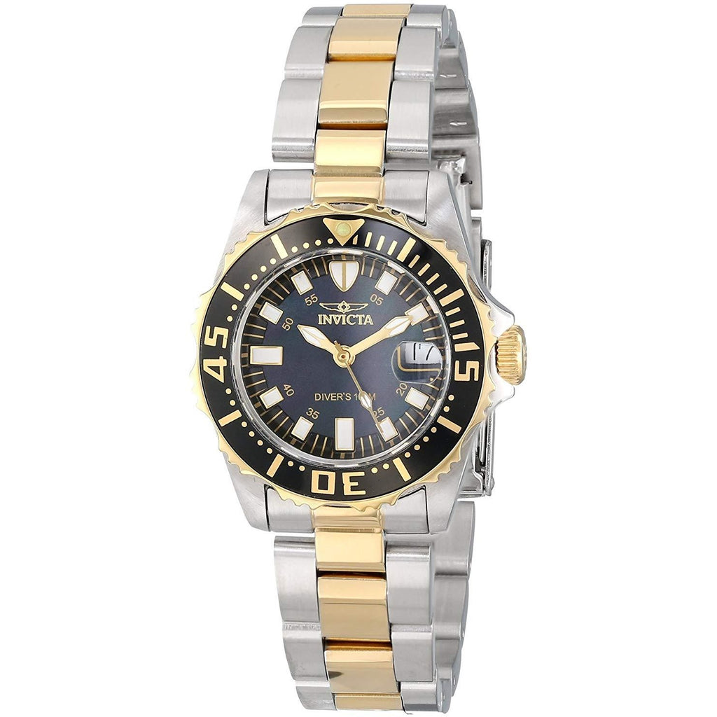 "Invicta Women's 2960 Pro Diver Collection ""Lady Abyss"" Dive Watch - 3alababak"