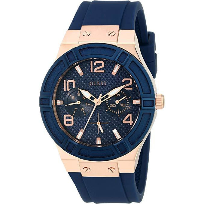 GUESS Men's Stainless Steel Silicone Casual Watch Model U0571L1