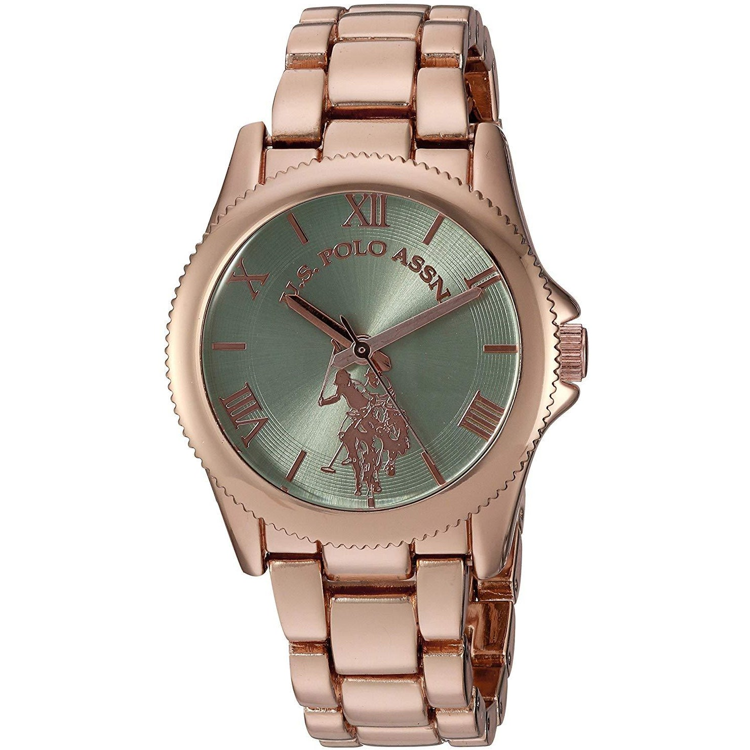 U.S. Polo Assn. USC40039 Women's Quartz Metal and Alloy Casual Watch