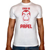 Phoenix WHITE Round Neck Printed T-Shirt Men (La casa de papel )
