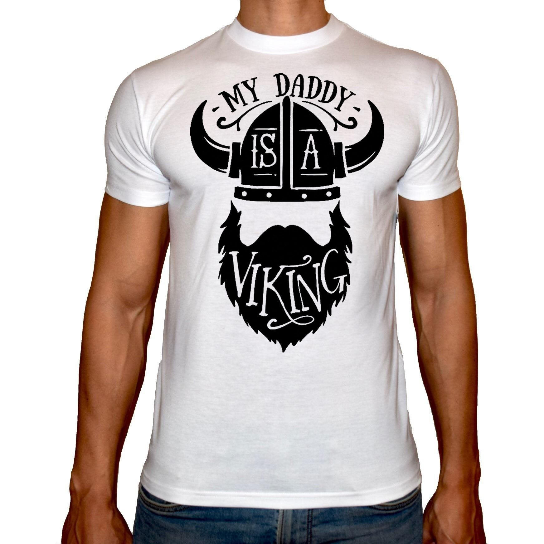 Phoenix WHITE Round Neck Printed T-Shirt Men (Beard)