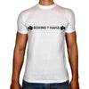 Phoenix WHITE Round Neck Printed T-Shirt Men - Boxing hahah